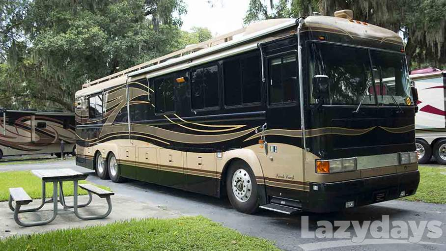 1997 bluebird wanderlodge 43rw for sale in tampa fl for Class a motor homes for sale