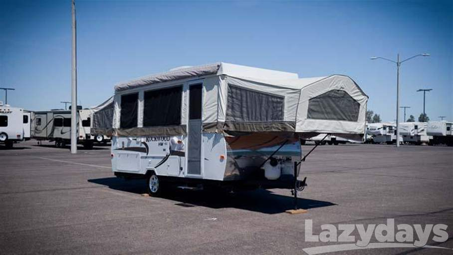 2010 Forest River Rockwood Premier High Wall HW277