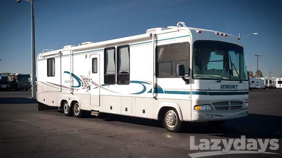 2000 Mountain High Coach Residency 36 tag axel