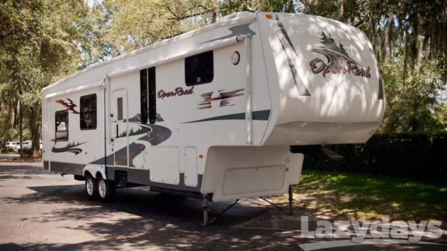 Open Road Fifth Wheel Floor Plans: 2008 Pilgrim Open Road 357RL For Sale In Tampa, FL