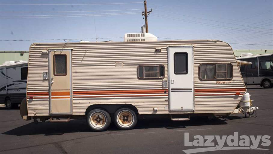 Value Of  Fleetwood Prowler Travel Trailer