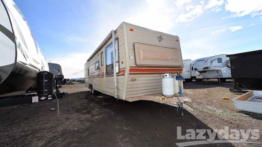 Fleetwood Terry Travel Trailer Weight