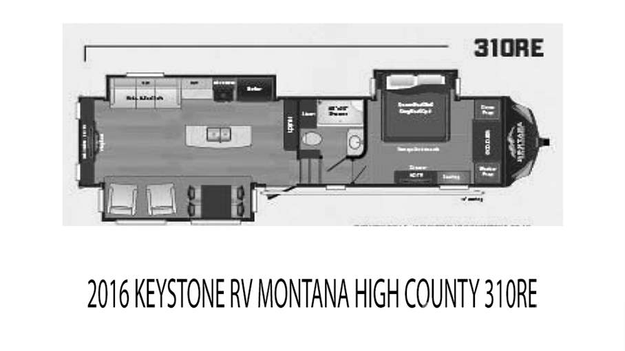 2016 Keystone RV Montana High Country 310RE For Sale In