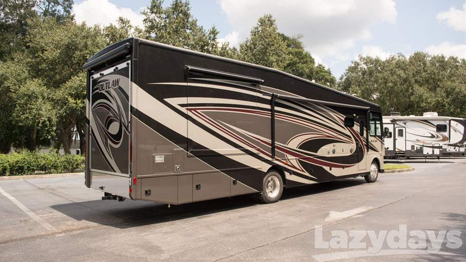 Creative 2017 Thor Motor Coach Outlaw 38RE For Sale In Tampa FL  Lazydays